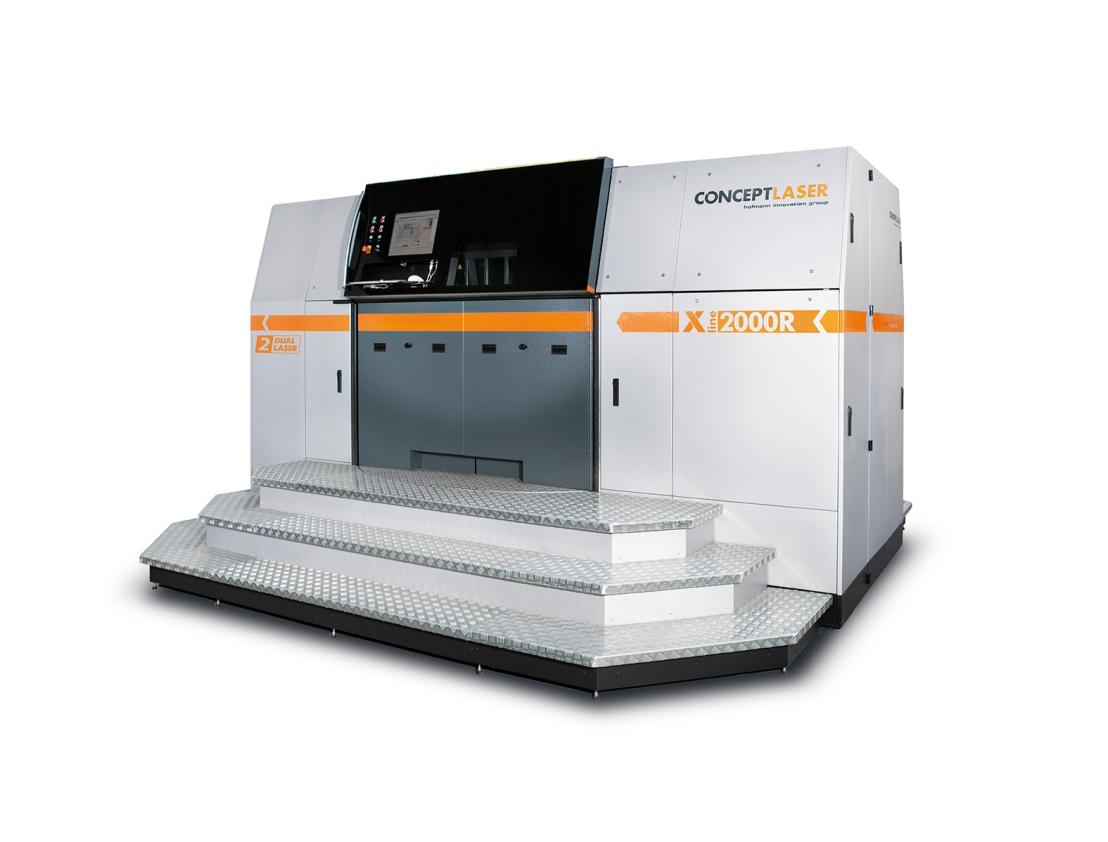Concept Laser batte il proprio record per la più grande stampante 3D laser ametalli